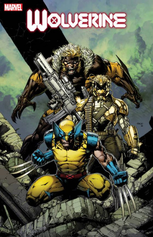 Wolverine #8 (Finch Cover)