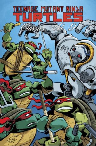 Teenage Mutant Ninja Turtles Classics Vol. 9