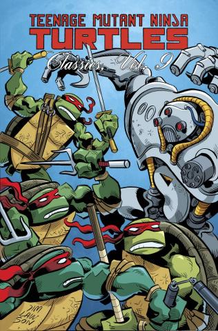 Teenage Mutant Ninja Turtles Classics Vol. 9
