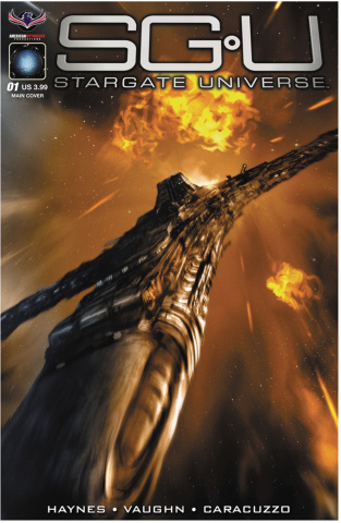 Stargate Universe: Back to Destiny #1 (Scalf Cover)