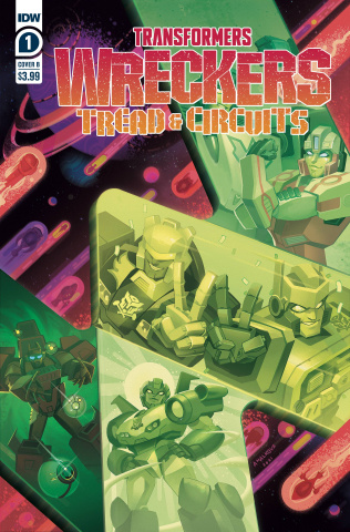 Transformers: Wreckers - Tread & Circuits #1 (Malkova Cover)