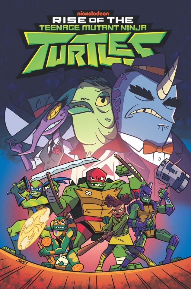 Rise of the Teenage Mutant Ninja Turtles Vol. 3: Sound Off