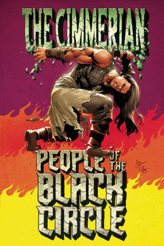 The Cimmerian: People of the Black Circle #3 (10 Copy Casas Virgin Cover)