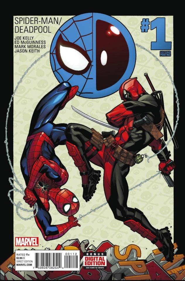 Spider-Man / Deadpool #1 (McGuinness 2nd Printing)