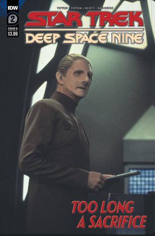 Star Trek: Deep Space Nine - Too Long A Sacrifice #2 (Photo Cover)