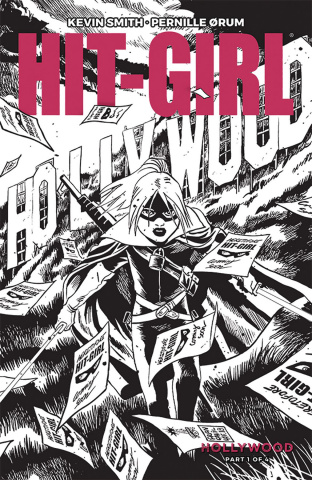 Hit-Girl, Season Two #1 (B&W Francavilla Cover)