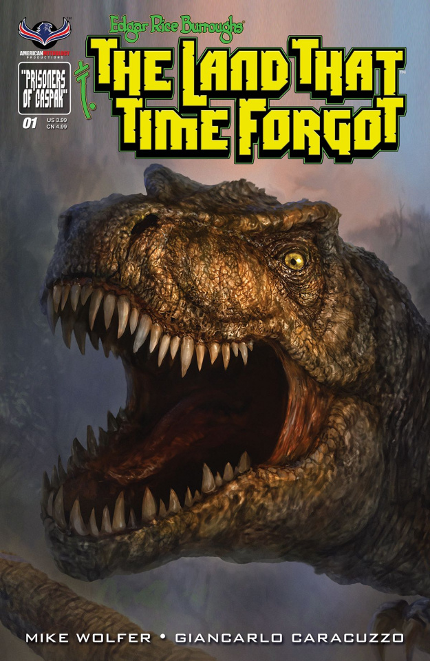 The Land That Time Forgot #1 (Painted Subscription Cover)