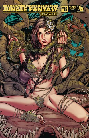 Jungle Fantasy: Survivors #6 (Flora Cover)