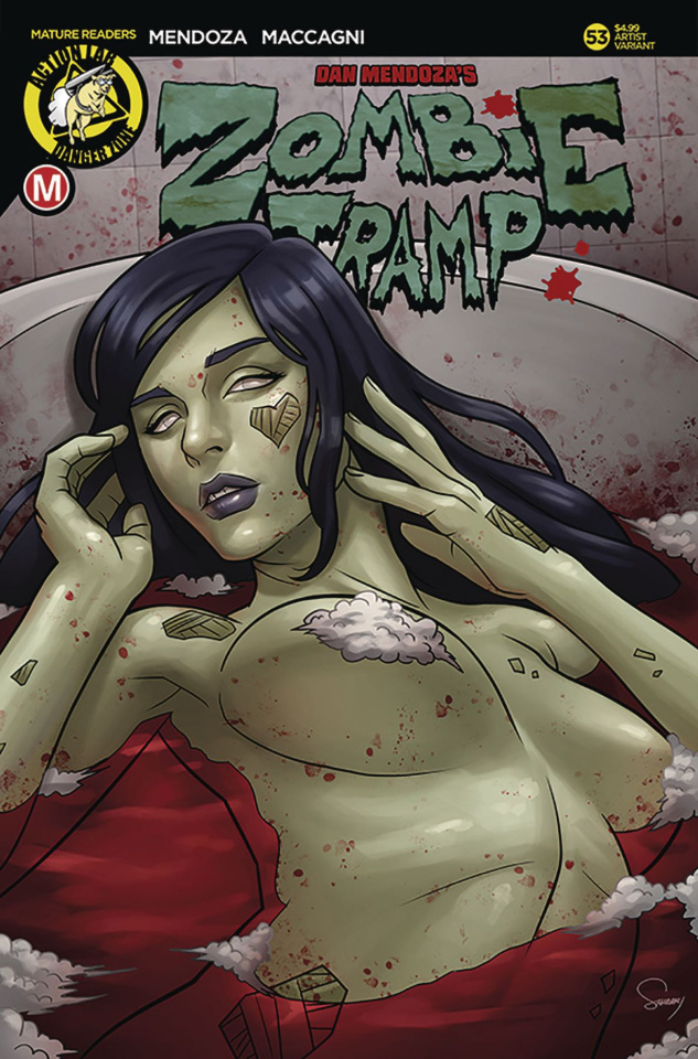 Zombie Tramp #53 (Delatorre Cover)
