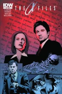 The X-Files, Season 10 #3 (Subscription Cover)