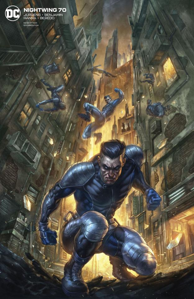 Nightwing #70 (Alan Quah Cover)