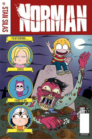 Norman: The First Slash #1 (Ellerby Cover)