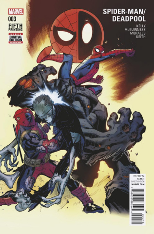 Spider-Man / Deadpool #3 (McGuinness 5th Printing)
