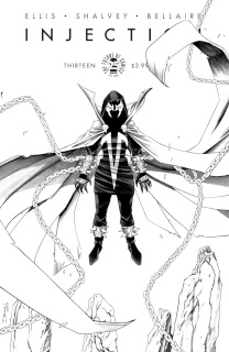 Injection #13 (Spawn Month B&W Cover)