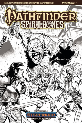 Pathfinder: Spiral of Bones #1 (10 Copy Galindo Cover)
