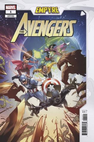 Empyre: Avengers #1 (Jacinto Cover)
