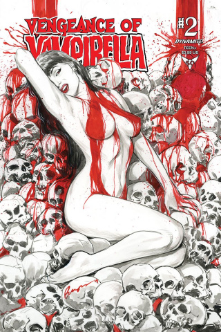 Vengeance of Vampirella #2 (Buzz Cover)