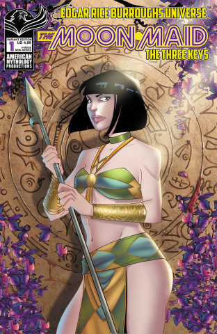 The Moon Maid: The Three Keys #1 (Borelli Cover)