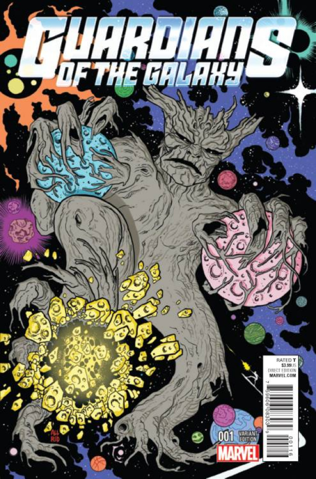 Guardians of the Galaxy #1 (Allred Kirby Monster Cover)