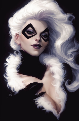 Black Cat #1 (Artgerm Virgin Cover)