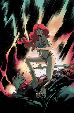 Red Sonja: The Superpowers #4 (25 Copy Pinna Virgin Cover)