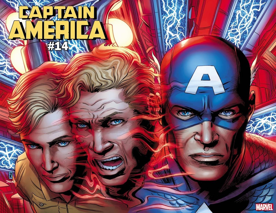 Captain America #14 (Zircher Immortal Wraparound Cover)