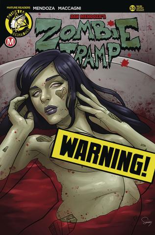 Zombie Tramp #53 (Delatorre Risque Cover)