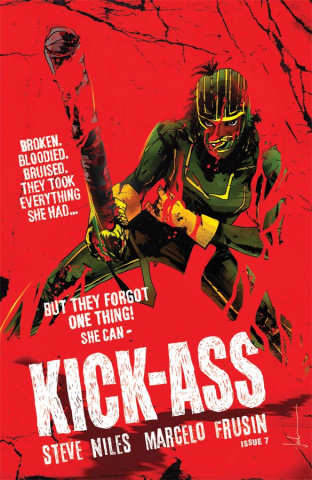 Kick-Ass #7 (Jock Cover)