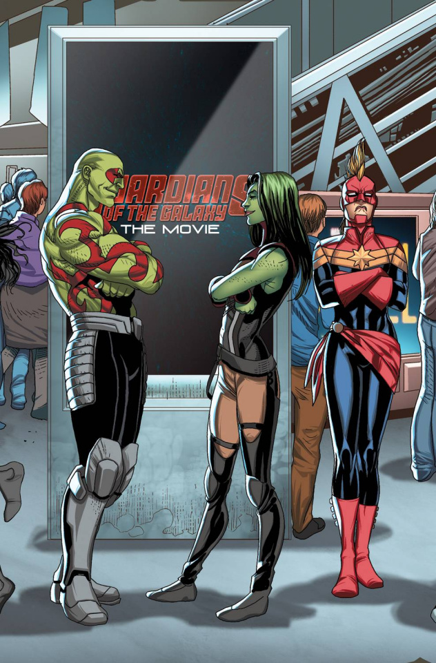 Guardians of the Galaxy #23 (Larroca Welcome Home Cover)