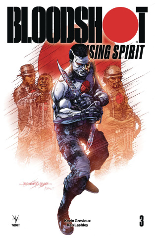 Bloodshot: Rising Spirit #3 (Tolibao Cover)