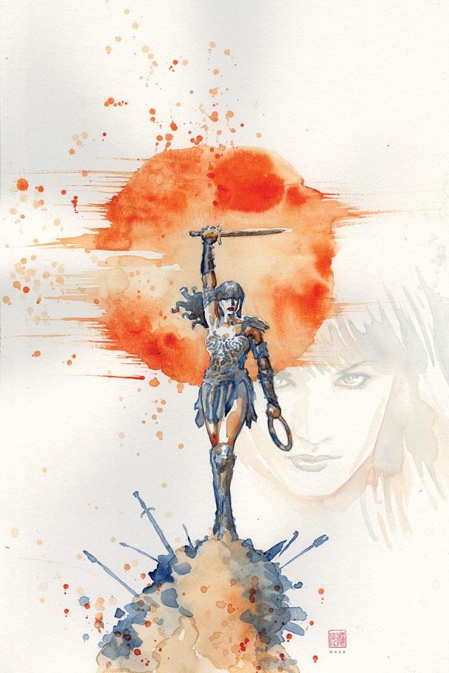 Xena: Warrior Princess #1 (10 Copy Mack Virgin Cover)