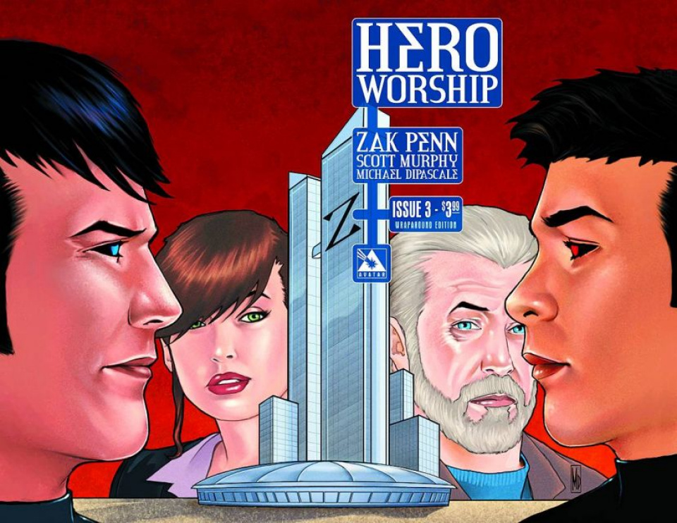Hero Worship #3 (Wrap Cover)