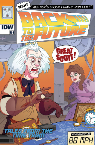 Back to the Future: Time Train #1 (Ed Murphy Cover)