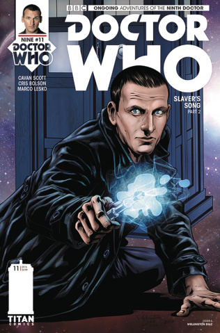 Doctor Who: New Adventures with the Ninth Doctor #11 (Diaz Cover)