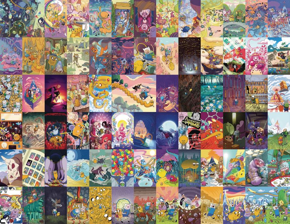 Adventure Time #75 (10 Copy Park Harrison Cover)