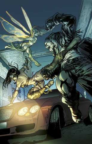 Grimm Fairy Tales: Neverland - Age of Darkness #1 (Laiso Cover)