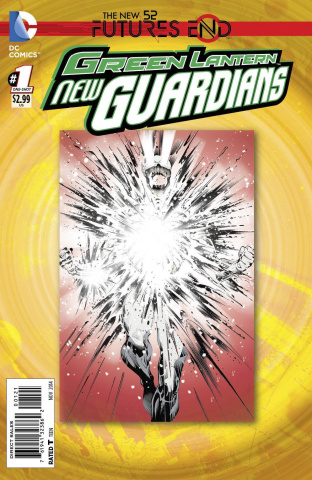 Green Lantern: New Guardians - Future's End #1 (Standard Cover)