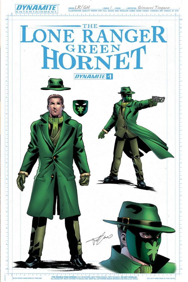 The Lone Ranger / The Green Hornet #1 (10 Copy Hornet Cover)