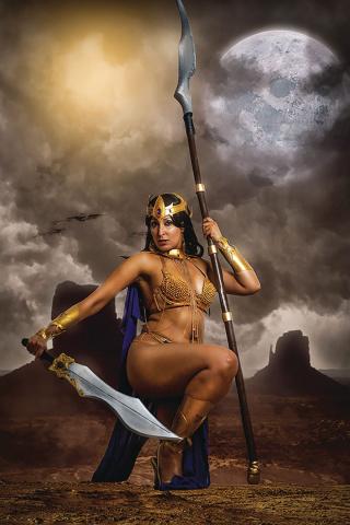 Dejah Thoris #4 (30 Copy Tasha Cosplay UK Virgin Cover)