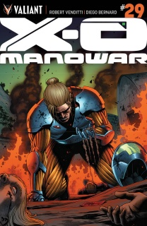 X-O Manowar #29 (Cafu Cover)