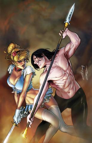 Grimm Fairy Tales: Cinderella #1 (Laiso Cover)