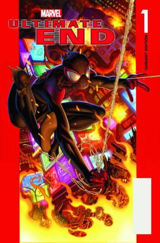 Ultimate End #1 (Bagley Spider-Man Cover)