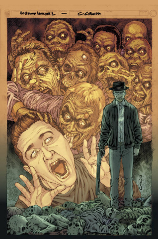 Hollywood: Zombie Apocalypse #2 (Granda Cover)