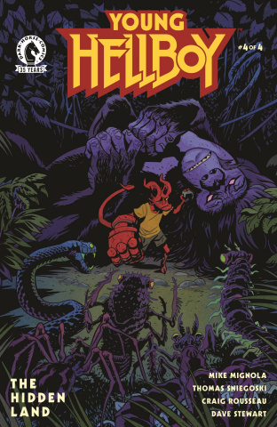 Young Hellboy: The Hidden Land #4 (Smith Cover)