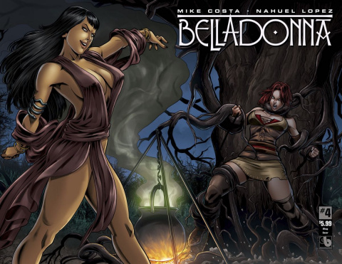 Belladonna #4 (Wrap Cover)