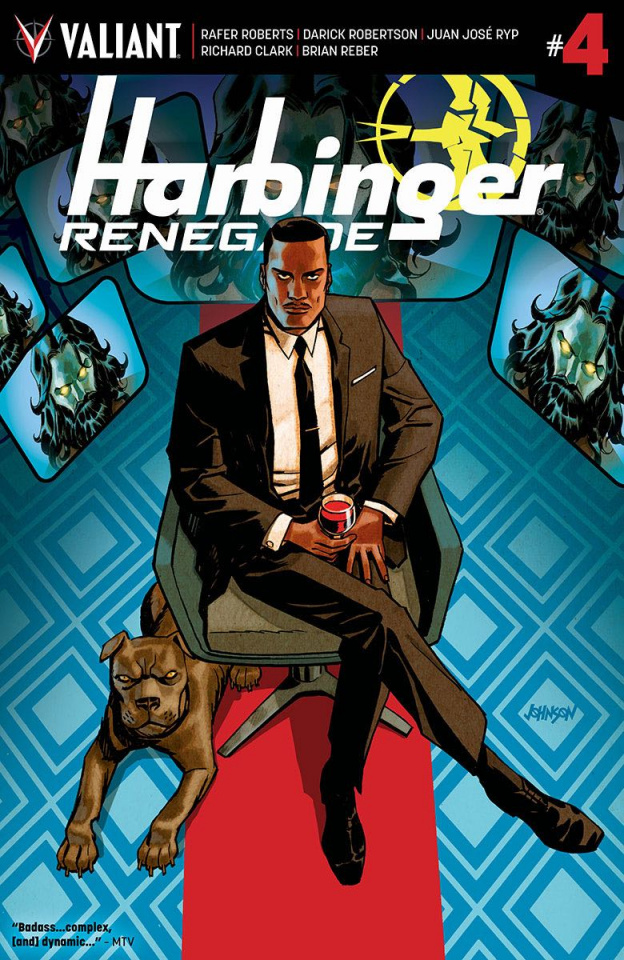 Harbinger: Renegade #4 (Johnson Cover)