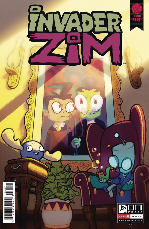 Invader Zim #48 (Bones Cover)