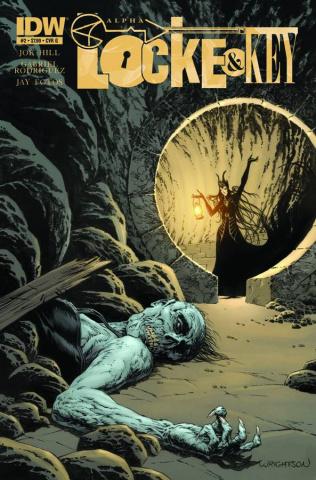 Locke & Key: Alpha #2 (Wrightson Cover)
