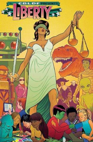 Comic Book Legal Defense Fund Liberty Annual 2014 (Allred Cover)