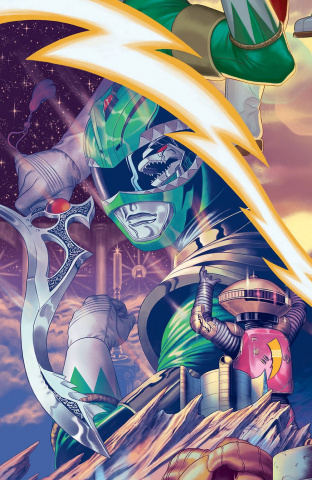 Mighty Morphin' Power Rangers #16 (20 Copy Morris Cover)